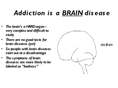 drug addiction choice or disease essay